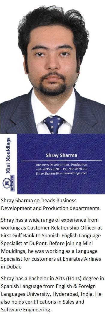 Shray Profile